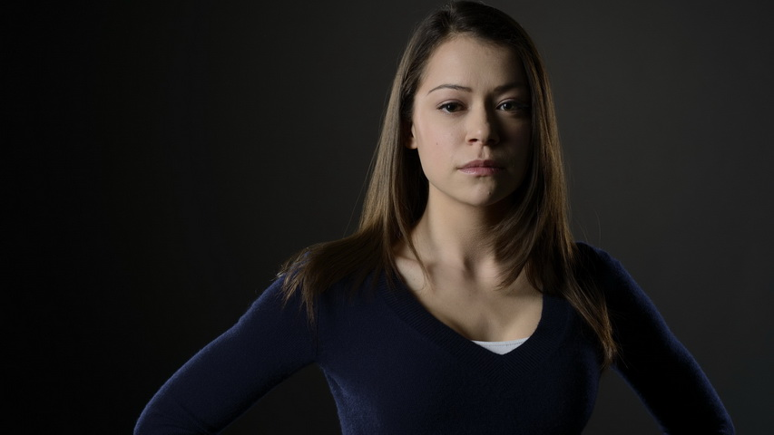 Актриса Татьяна Маслани. Фото с сайта kinomania.ru