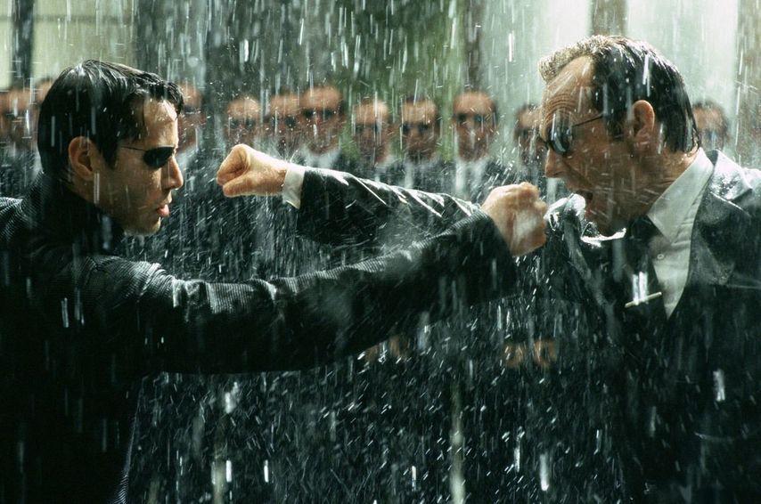 Кадр из фильма «Матрица 3»