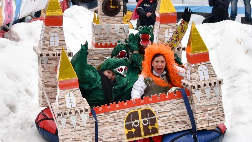 Парад саней. Фото с сайта youtube.com