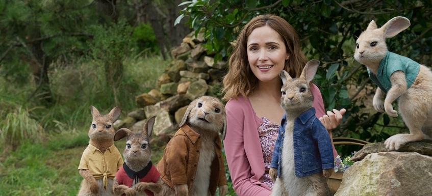 Кадр из фильма «Кролик Питер»