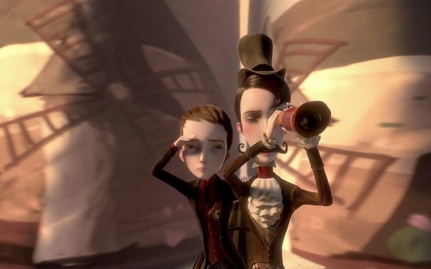 Кадр из мультфильма «Механика сердца»