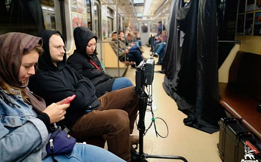 На съемках фильма «Межсезонье». Фото с сайта mosfilm.ru