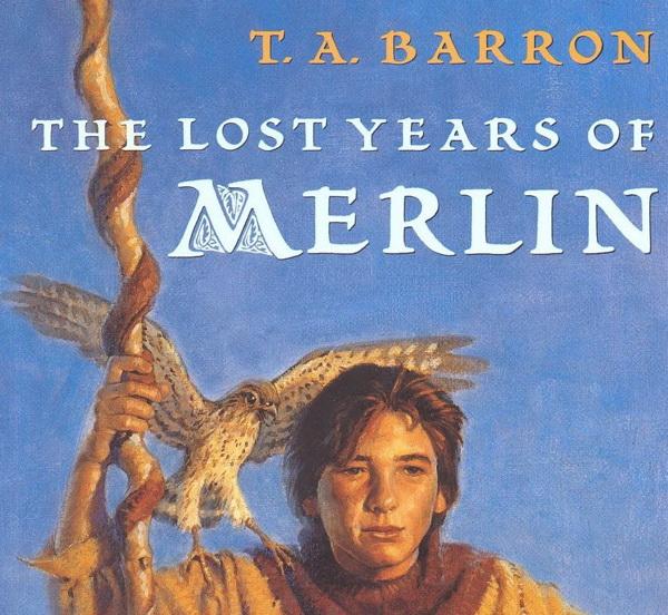 Обложка книги «Мерлин: Потерянные годы»