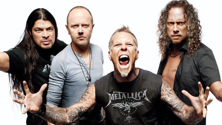 Группа Metallica. Фото с сайта blackbirdradio.ru