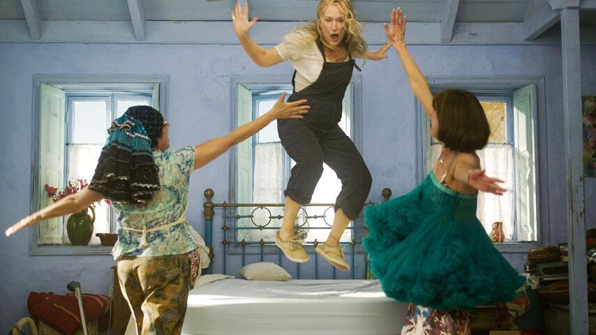 Кадр из фильма «Mamma Mia»