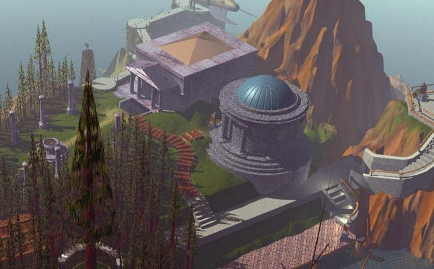 Кадр из игры «Myst»