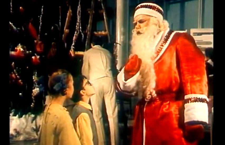 Кадр из фильма «Новогодние приключения Маши и Вити»