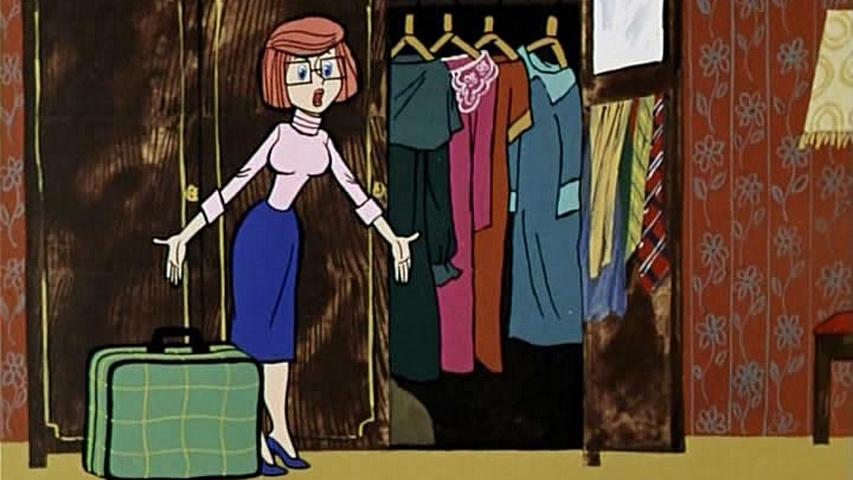 Кадр из мультфильма «Каникулы в Простоквашино»