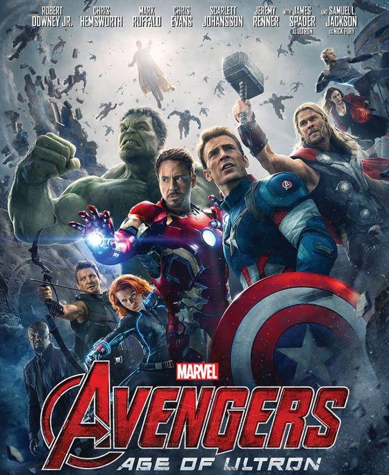 Постер фильма «Мстители-2: Эра Альтрона»