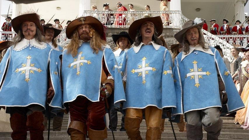 Кадр из фильма «Возвращение мушкетеров»