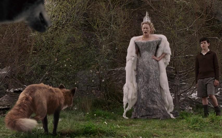 Кадр из фильма «Лев, Колдунья и платяной шкаф»