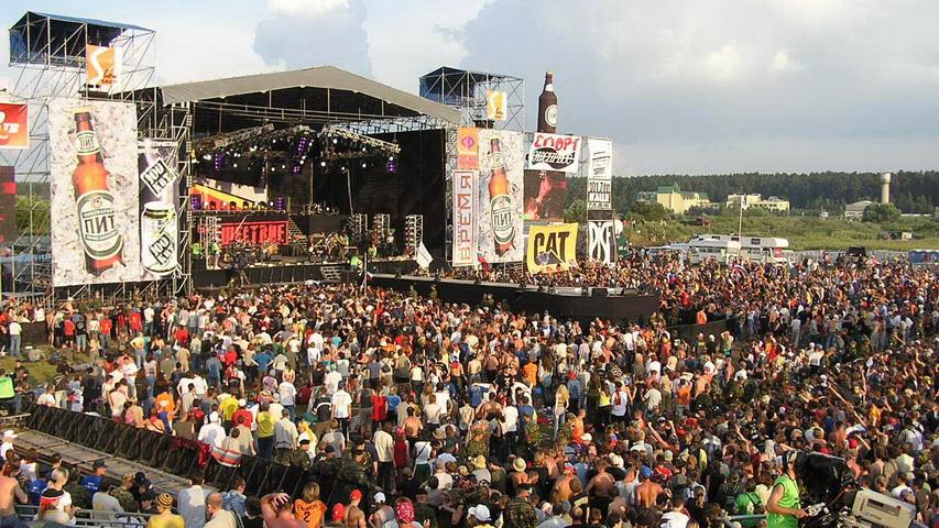Рок-фестиваль «Нашествие». Фото с сайта alt-sector.net