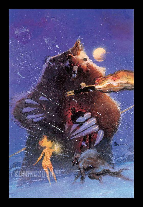 Тизерный постер фильма «Новые мутанты»