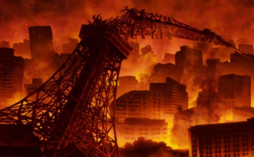 Кадр из мультсериала «Затопление Японии 2020»