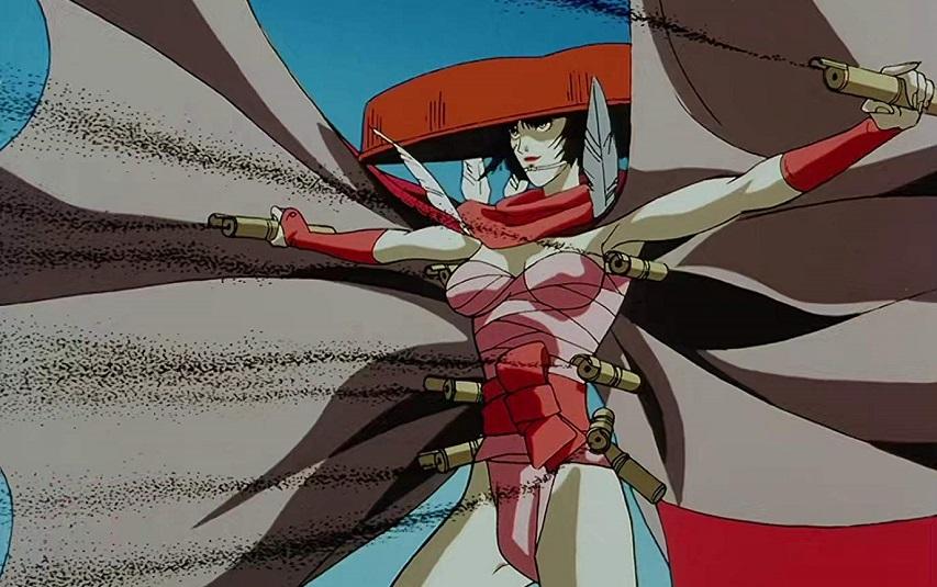 Кадр из аниме «Манускрипт ниндзя»
