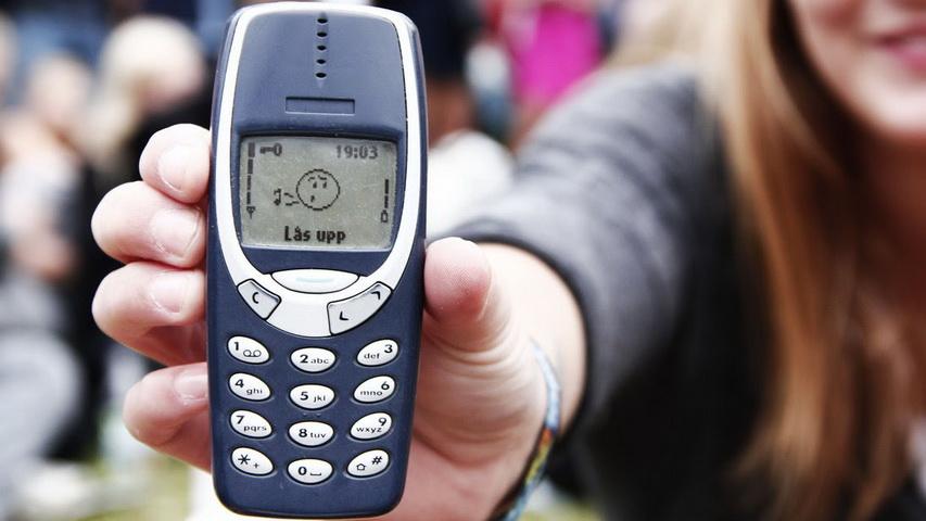 Телефон Nokia 3310. Фото с сайта 1080.plus