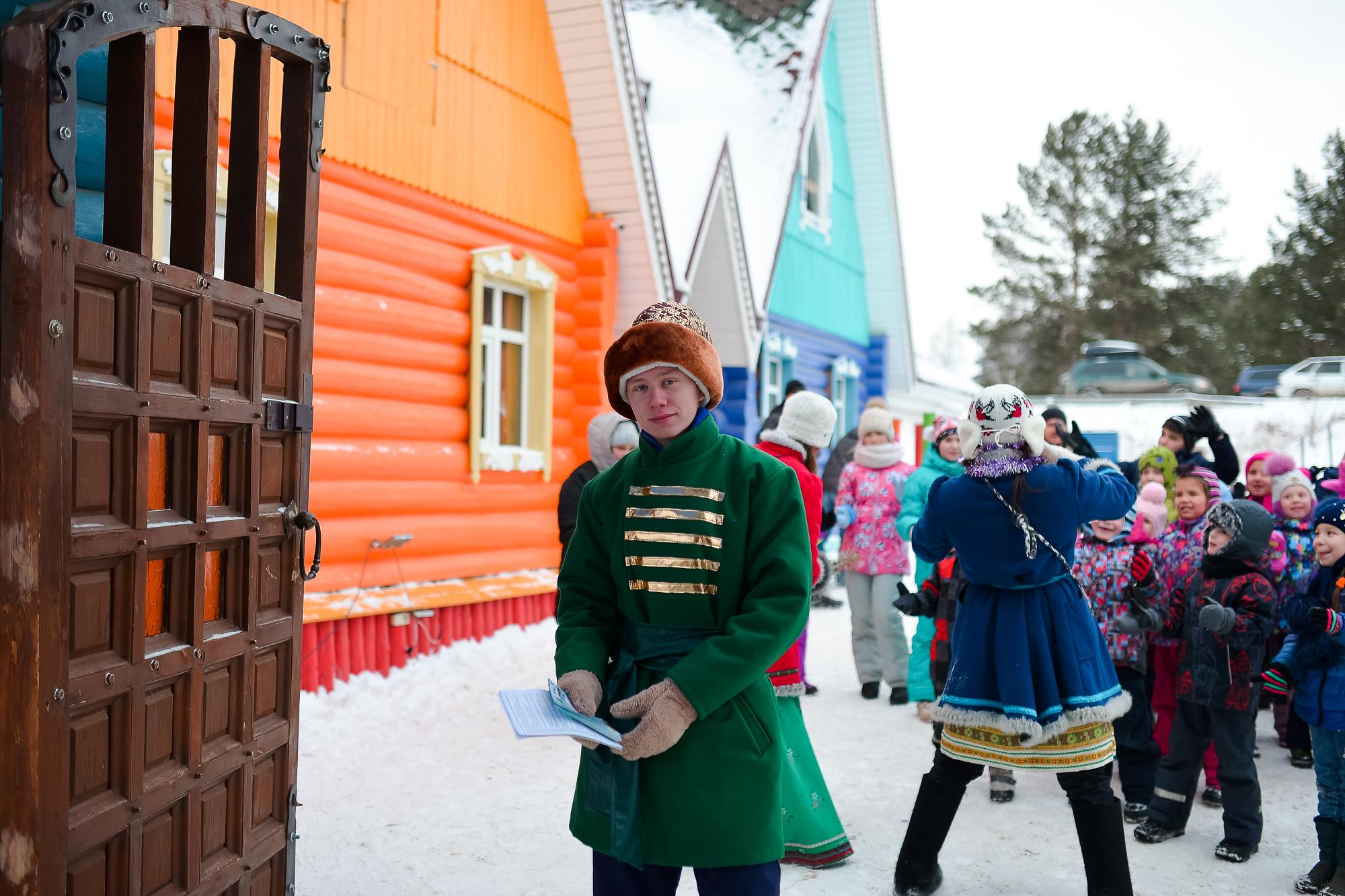 Фото с новогоднего праздника предоставлено организаторами