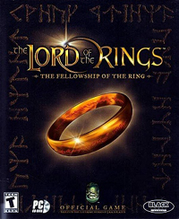 Обложка игры «Lord of the Rings: The Fellowship of the Ring»