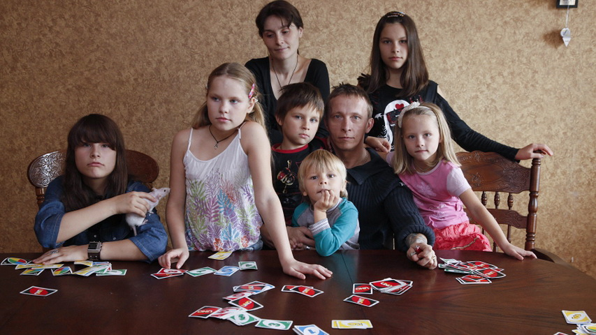Актер Иван Охлобыстин с семьей. Фото с сайта lady.mail.ru