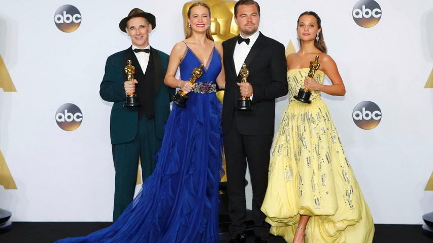 Церемония вручения премии «Оскар» в2016 году. Фото ссайта oscar2016.ru