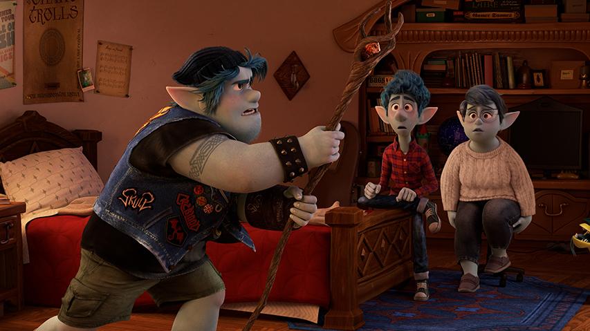 Кадр из фильма «Вперед»