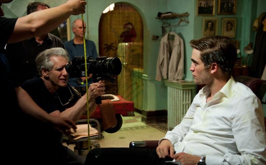 На съемках фильма «Космополис». Фото с сайта kinopoisk.ru