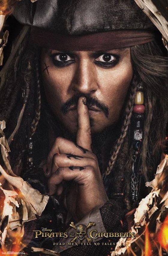 Постер фильма «Пираты Карибского моря: Мертвецы не болтают»