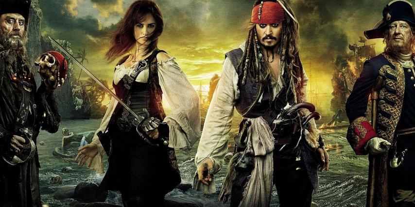 Постер фильма «Пираты Карибского моря 4»