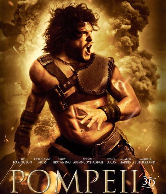 Постер фильма «Помпеи»