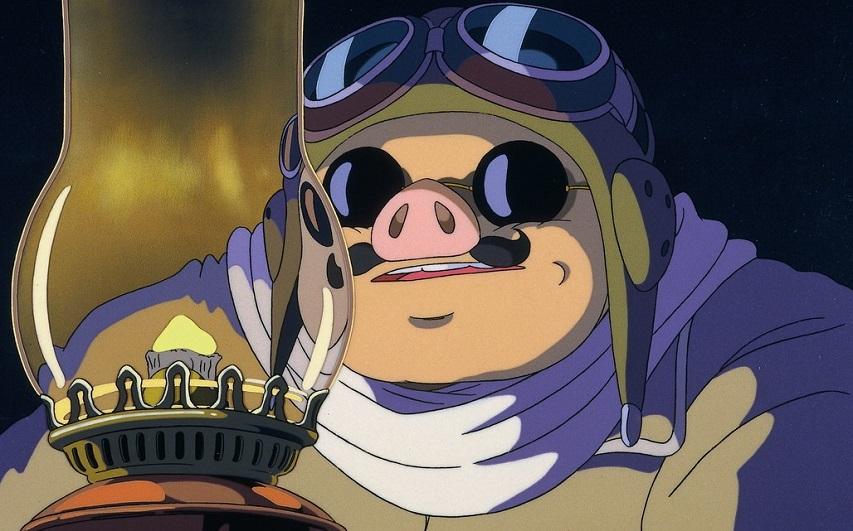 Кадр из мультфильма «Порко Россо»