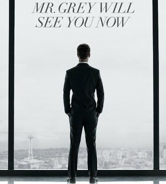Постер фильма «50 оттенков серого»