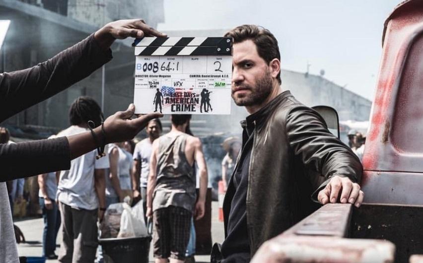 На съемках фильма «Последние дни американской преступности». Фото с сайта cinemacomrapadura.com.br