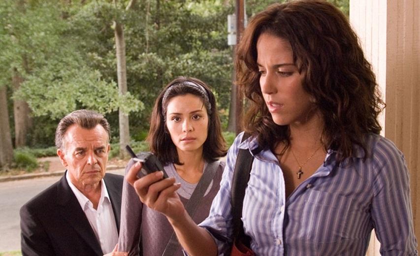 Кадр из фильма «Один пропущенный звонок»