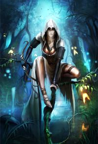 Арт из игры Trine