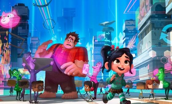 Кадр из мультфильма «Ральф против интернета»