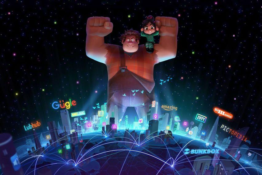Промо мультфильма «Ральф 2»