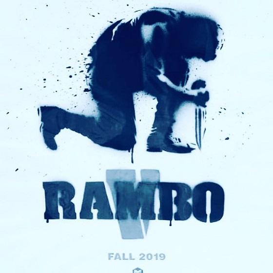 Тизер-постер фильма «Рэмбо 5»