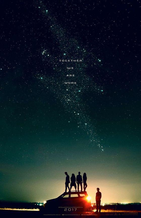 Постер фильма «Могучие рейнджеры»