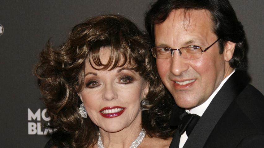Джоан Коллинз и Перси Гибсон. Фото с сайта peoples.ru