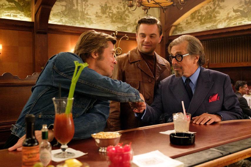 Кадр из фильма «Однажды в Голливуде»