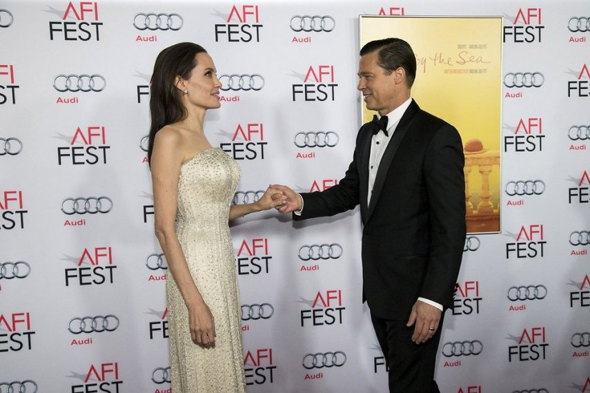 Джоли и Питт. Фото с сайта g4.nh.ee