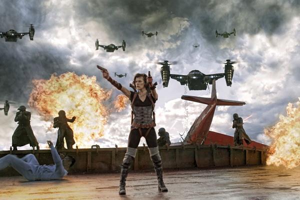 Кадр из фильма «Обитель зла: Возмездие»