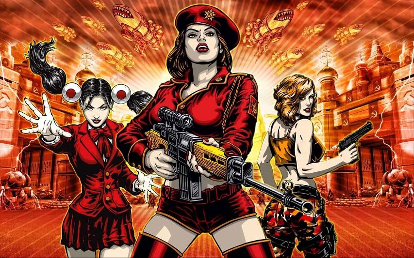 Постер игры «Red Alert 3»
