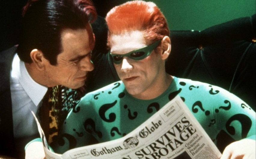 Кадр из фильма «Бэтмен навсегда»