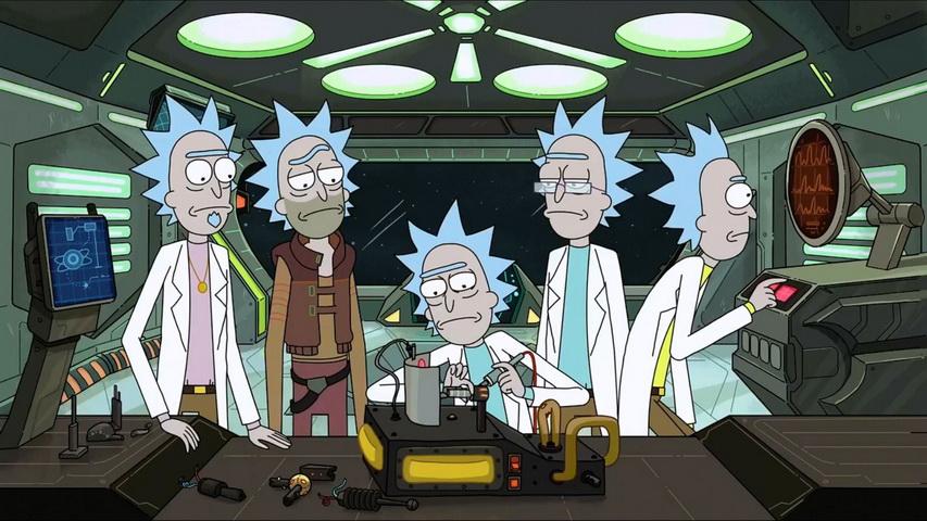 Кадр из мультсериала «Рик и Морти».