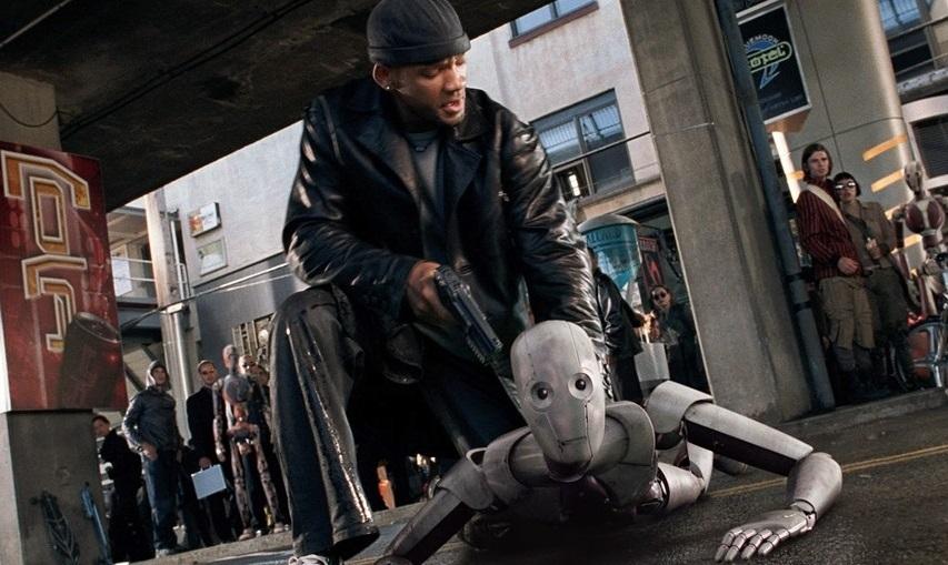 Кадр из фильма «Я, робот»