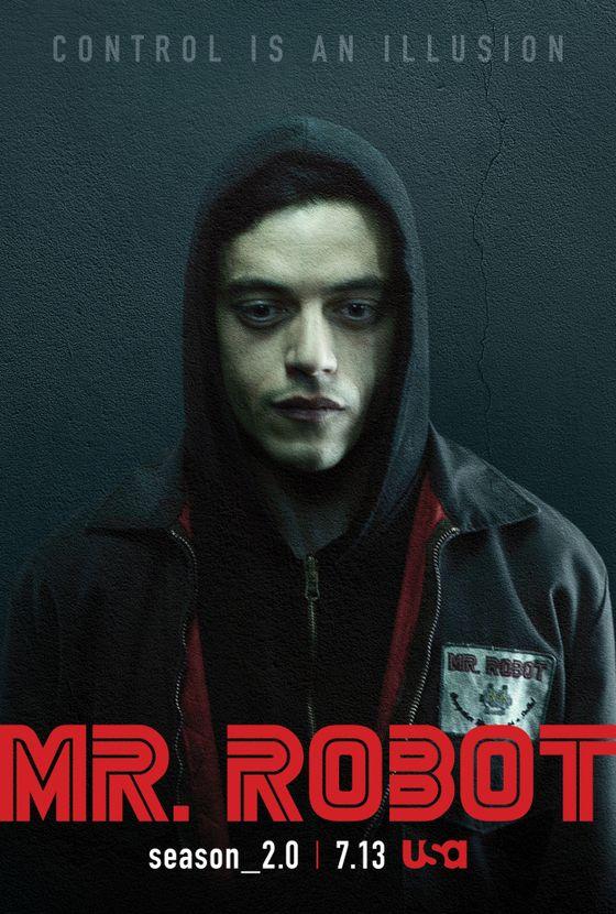 Постер сериала «Мистер Робот»