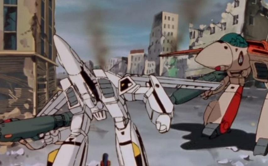 Кадр из сериала «Роботех»