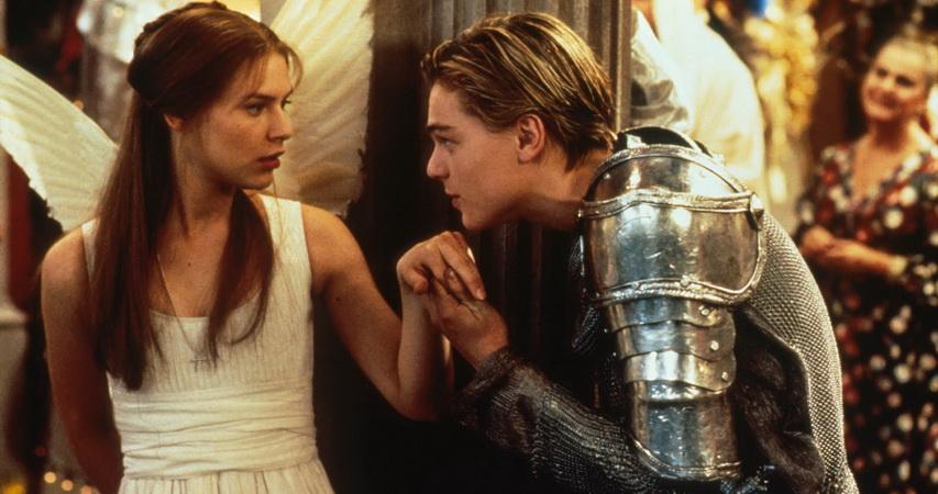 Кадр из фильма «Ромео+Джульетта»