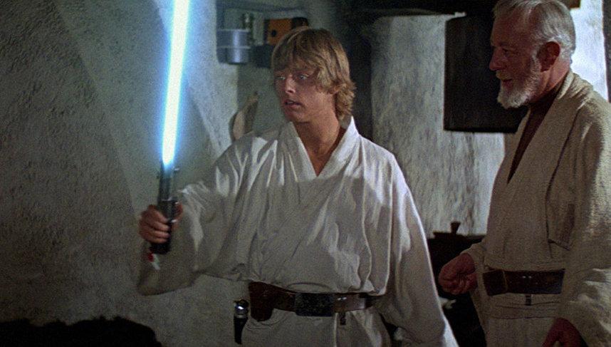 Кадр из «Звездных войн»